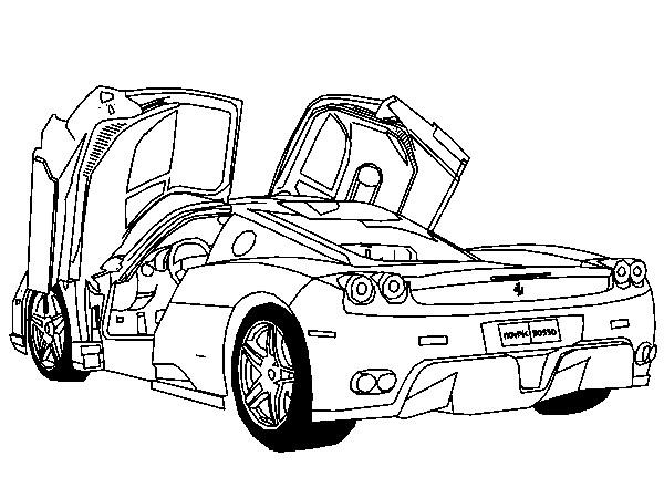 Coloriage et dessins gratuits Ferrari modèle F430 à imprimer