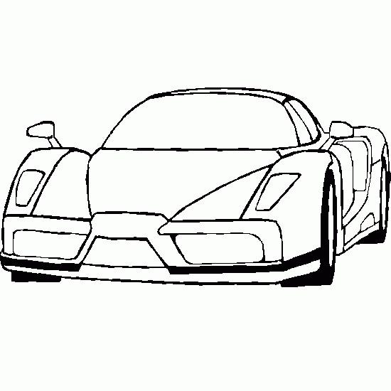 Coloriage et dessins gratuits Ferrari Scuderia couleur à imprimer