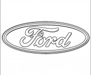 Coloriage Ford 1