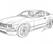 Coloriage Ford 10