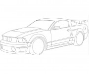 Coloriage Ford 13