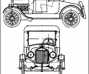 Coloriage Ford 23