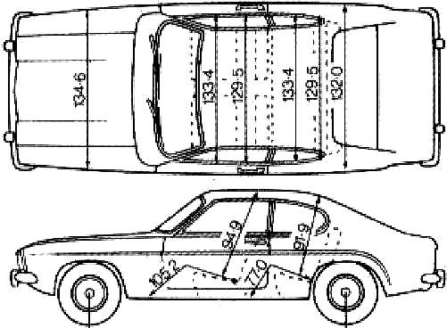 Coloriage et dessins gratuits Ford Fiche Technique à imprimer