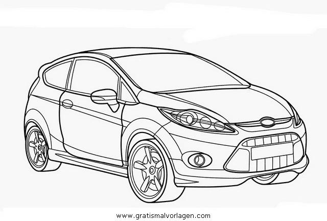 Coloriage et dessins gratuits Ford Focus RS en Ligne à imprimer