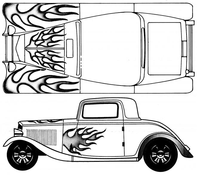 Coloriage et dessins gratuits Ford Modèle T Peinture à imprimer