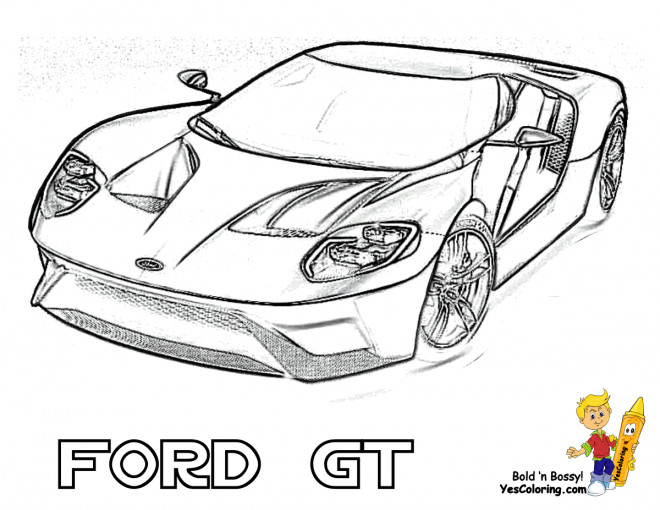 nfs ford mustang coloring pages - photo#27
