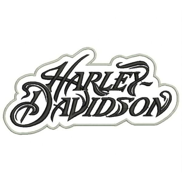 Coloriage et dessins gratuits Logo de maison de Moto Harley Davidson à imprimer
