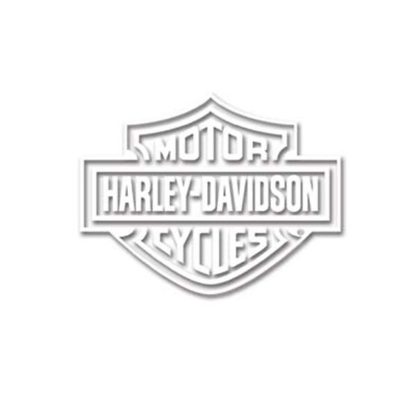 Coloriage et dessins gratuits Logo Moto Harley Davidson à imprimer