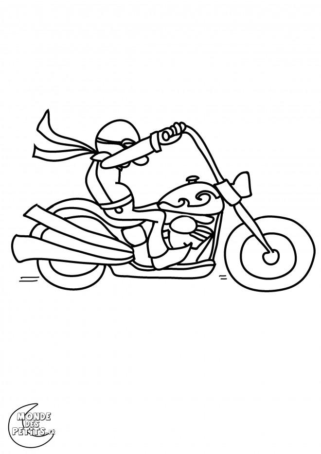 Dessin Moto Custom coloriage moto harley davidson vectoriel dessin gratuit à imprimer