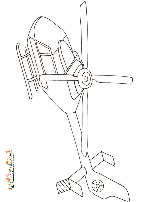 Coloriage et dessins gratuits Aéronef au crayon à imprimer