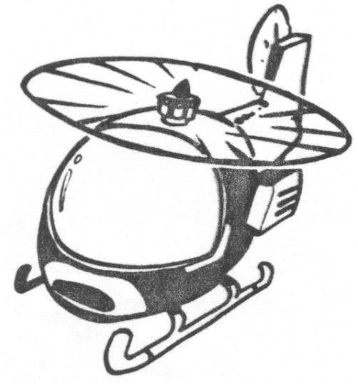Coloriage et dessins gratuits Hélicoptère réaliste en vol à imprimer