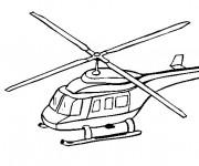 Coloriage Hélicoptère russe