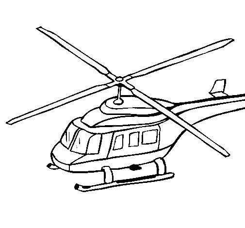 Coloriage et dessins gratuits Hélicoptère russe à imprimer