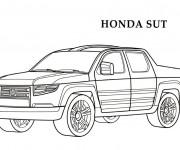 Coloriage Honda 3