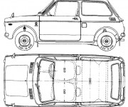Coloriage Honda ancien modéle