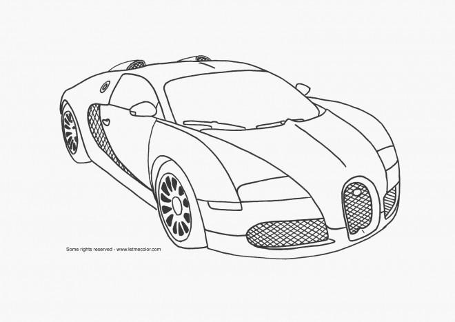 Coloriage et dessins gratuits Automobile Maybach à imprimer