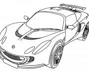 Coloriage Lamborghini couleur