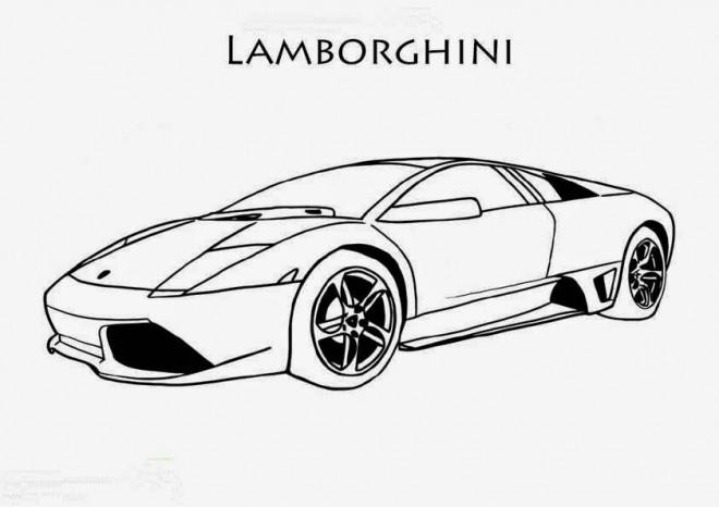 Coloriage et dessins gratuits Lamborghini Sesto Elemento à imprimer