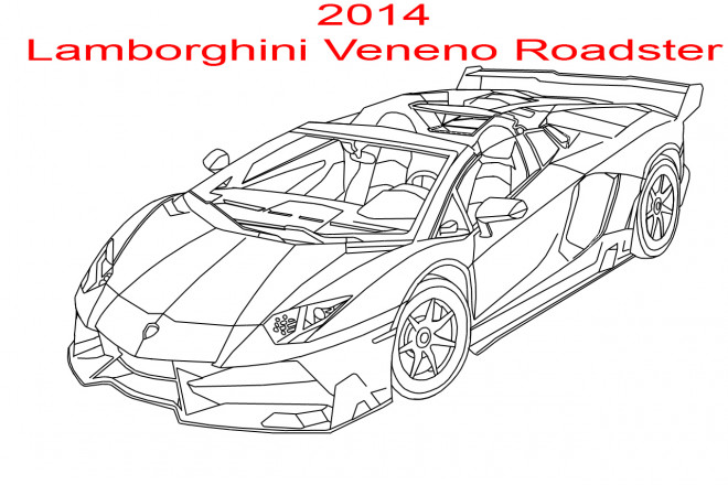 coloriage lamborghini veneno roadster dessin gratuit imprimer. Black Bedroom Furniture Sets. Home Design Ideas