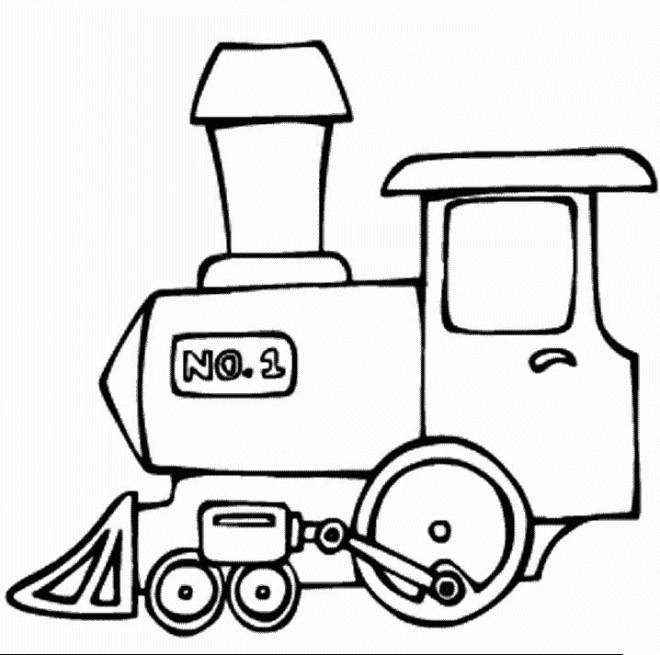 Coloriage et dessins gratuits La Véhicule Locomotive à imprimer