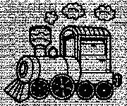 Coloriage Locomotive 11