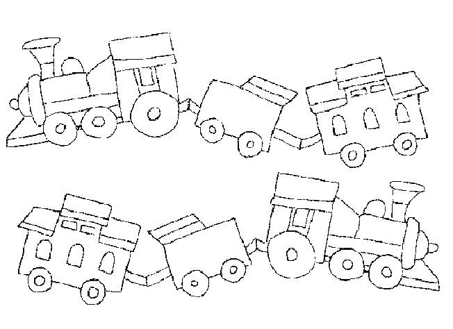 Coloriage train et wagon en ligne dessin gratuit imprimer - Dessin train et wagon ...