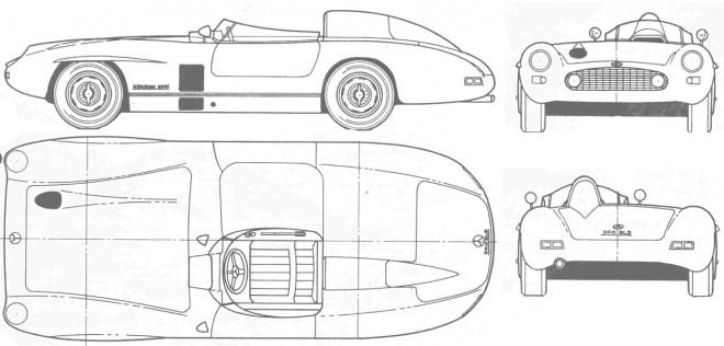 Coloriage et dessins gratuits Automobile Mercedes à une place à imprimer