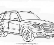 Coloriage Mercedes classe MI
