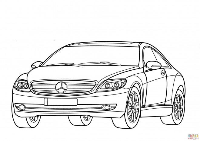 Coloriage Voiture Mercedes Classe A Dessin Gratuit 224 Imprimer