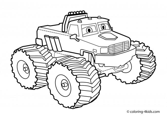 Coloriage et dessins gratuits Monster Truck 31 à imprimer