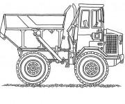 Coloriage et dessins gratuit Monster Truck à colorier à imprimer