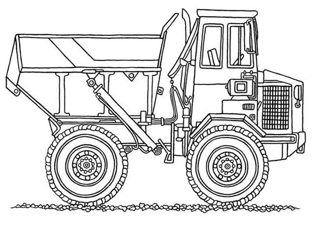 Coloriage et dessins gratuits Monster Truck à colorier à imprimer