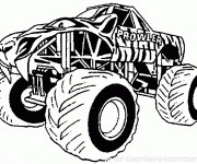 Coloriage Monster Truck Prowler