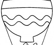 Coloriage Montgolfiere 10