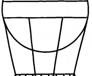 Coloriage Montgolfiere 3