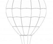 Coloriage Montgolfiere 6