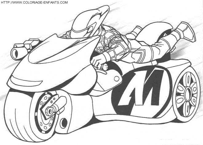 Coloriage moto enfant 29 dessin gratuit imprimer - Dessin moto enfant ...