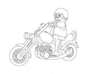 Coloriage et dessins gratuit Moto Harley Davidson pour  Enfant à imprimer