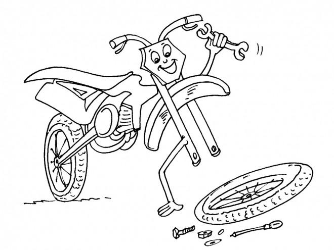 Dessin moto enfant - Dessin moto enfant ...