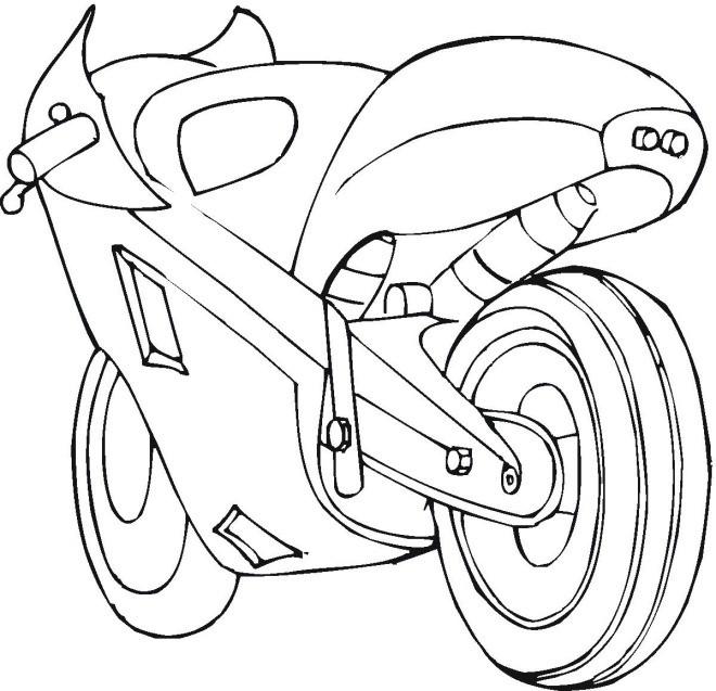Coloriage moto de course cbr dessin gratuit imprimer - Coloriage moto de course a imprimer ...