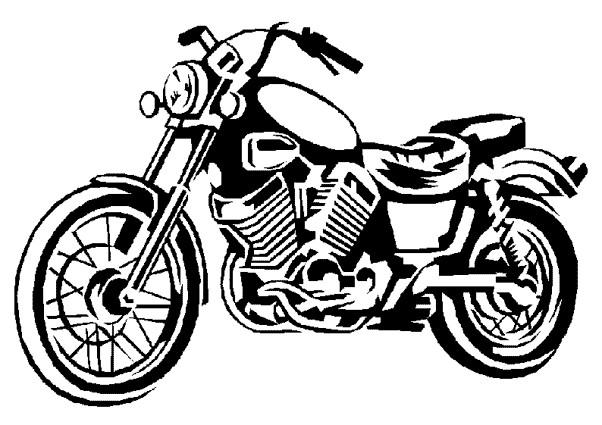 Coloriage moto harley davidson classique dessin gratuit imprimer - Dessins de moto a colorier et imprimer ...