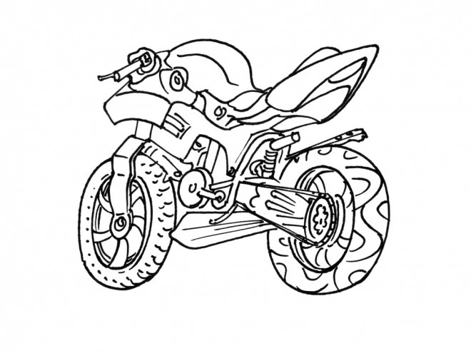 coloriage moto kawasaki dessin gratuit imprimer. Black Bedroom Furniture Sets. Home Design Ideas