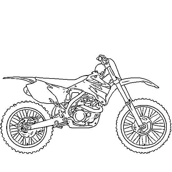 coloriage motocross kawasaki pour conduire dessin gratuit imprimer. Black Bedroom Furniture Sets. Home Design Ideas