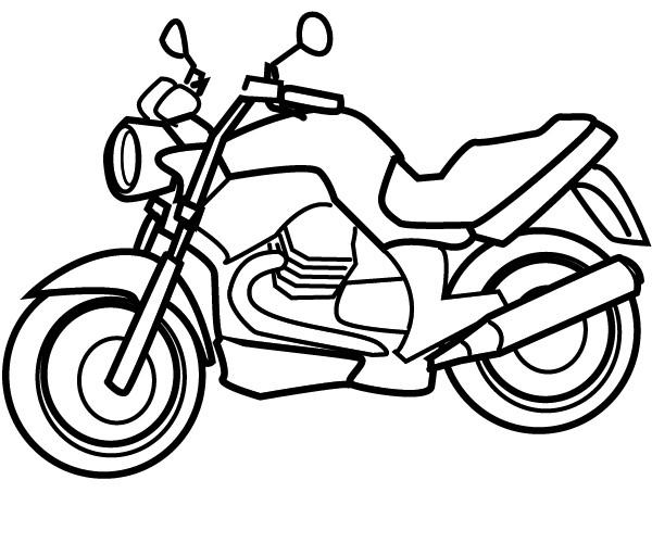 Coloriage et dessins gratuits Motos de haute vitesse à imprimer