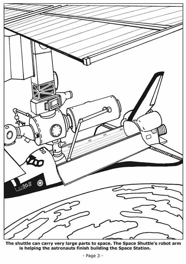 Coloriage et dessins gratuits Navette à découper à imprimer