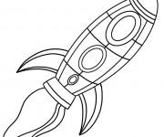 Coloriage et dessins gratuit Navette pour enfant à imprimer
