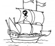 Coloriage Navire