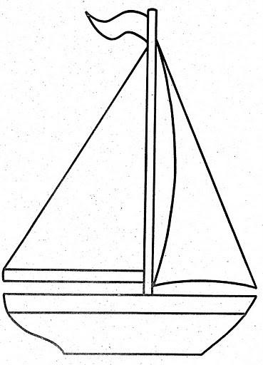 Coloriage et dessins gratuits Voile d'un Navire à imprimer