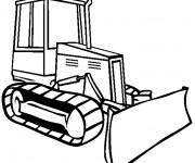 Coloriage Bulldozer 3