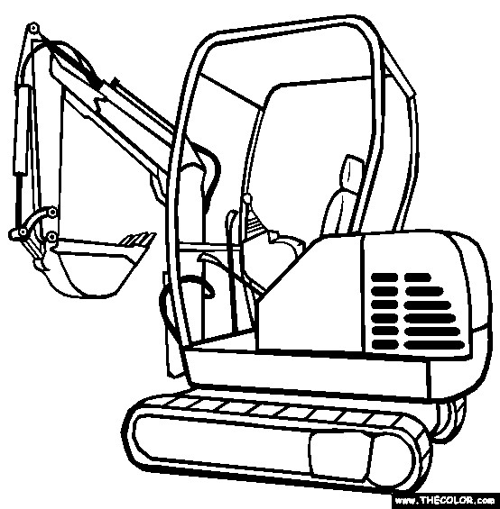 digger s coloring pages - photo#27
